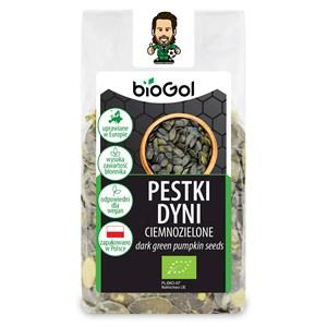 BioGol Pestki dyni ciemnozielone 150g BIO
