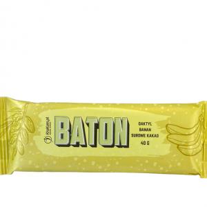 KruKam Baton daktylowy z bananem i kakao 40g