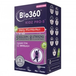 Natures Aid Kidz Pro-5 Miliardów Probiotyk 90g